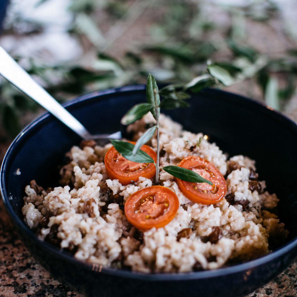 Cous Cous with tomatos
