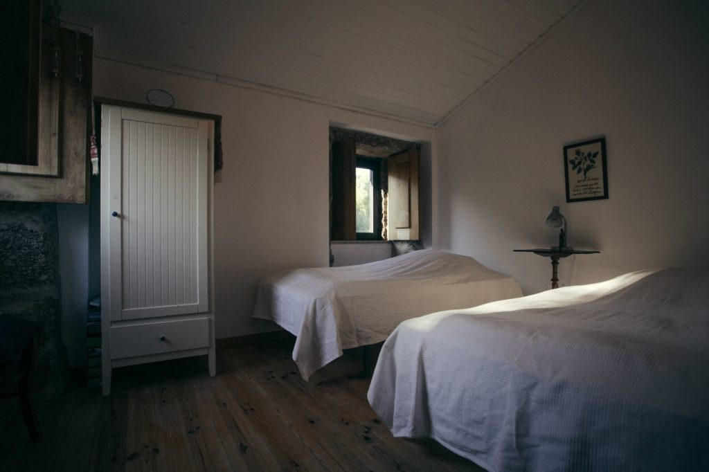 Inside view of room in the farmhouse